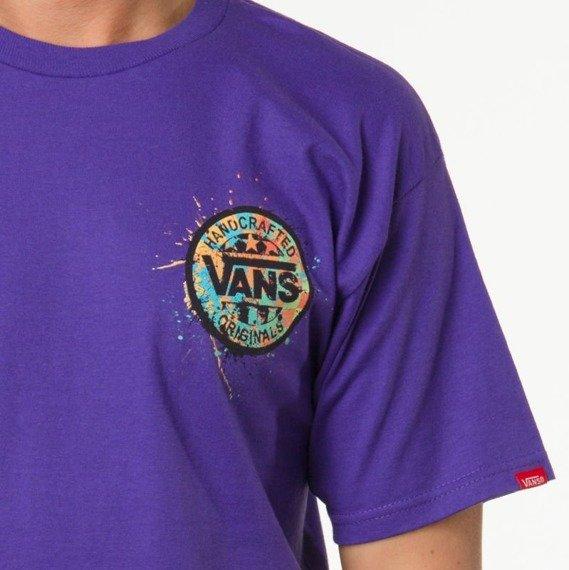 koszulka VANS - M HANDCRAFTED SPLLAT PURPLE