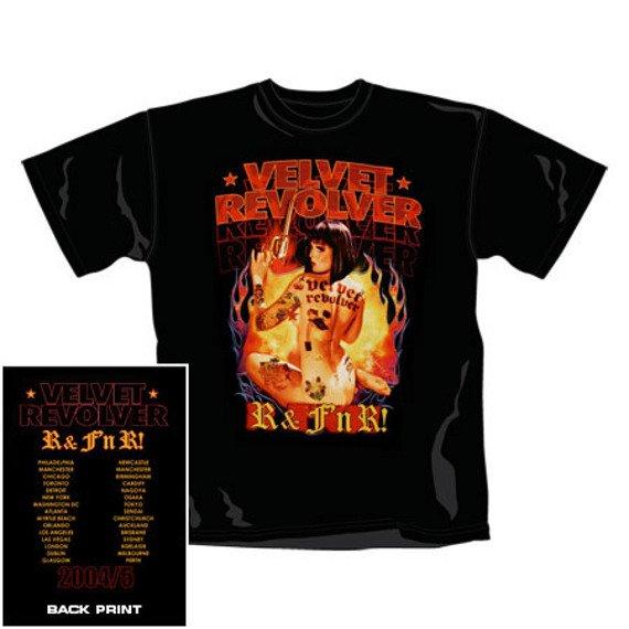 koszulka VELVET REVOLVER - R&F (1012TSBP)