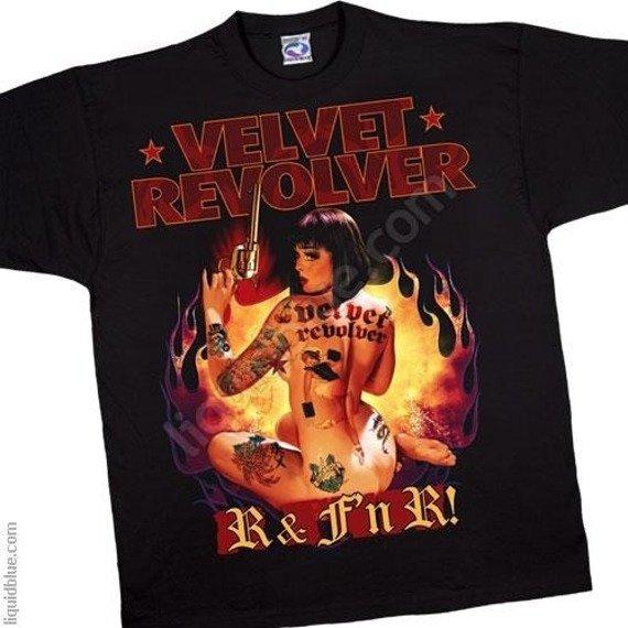 koszulka VELVET REVOLVER - R & F'n R!