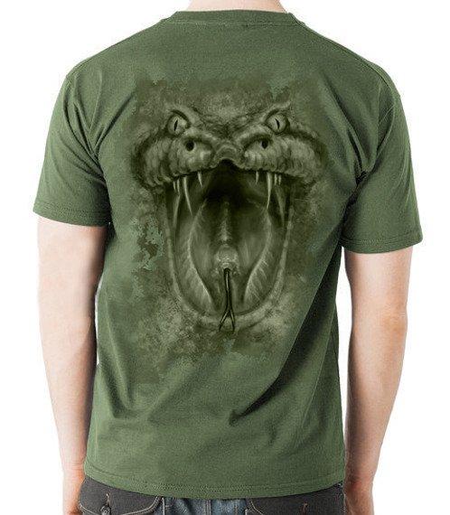koszulka VENOMOUS oliv (DS111604)