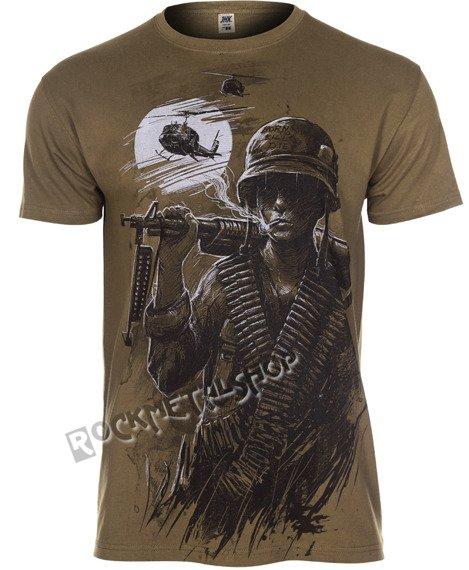 koszulka WAR IS HELL oliwkowa