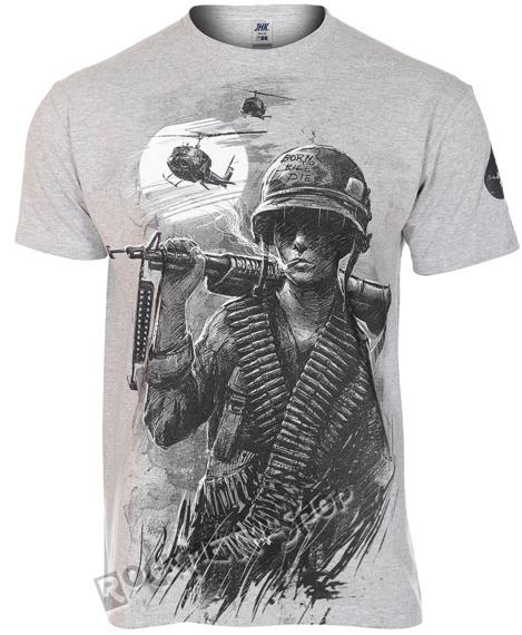 koszulka WAR IS HELL, szara