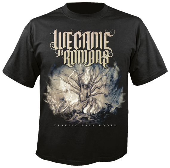 koszulka WE CAME AS ROMANS - TRACING BACK ROOTS