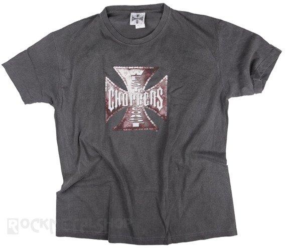 koszulka WEST COAST CHOPPERS - RUST CHAIN LOGO vintage