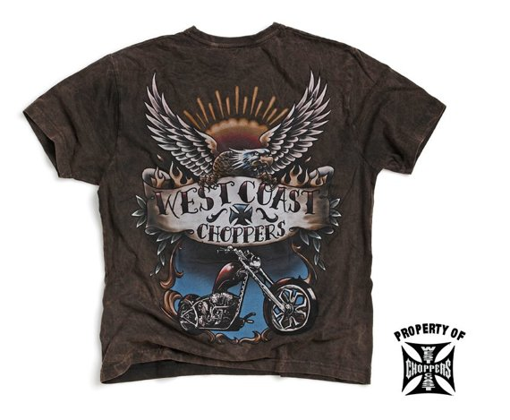 koszulka WEST COAST CHOPPERS - TATTOO vintage