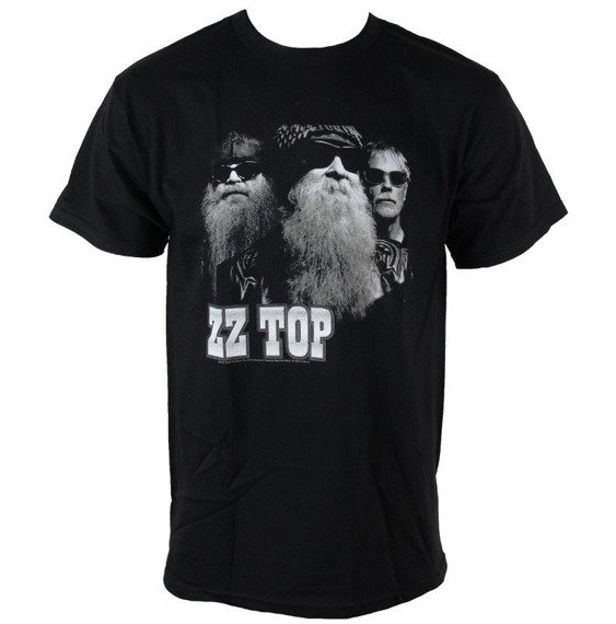 koszulka ZZ TOP - ZZ TOP BLACK PHOTO