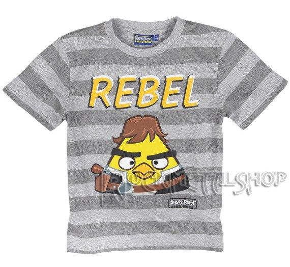 koszulka dziecięca ANGRY BIRDS STAR WARS - REBEL
