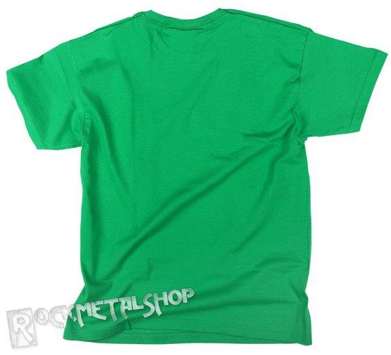 koszulka dziecięca BLACK ICON - SMURFS zielona (JICON090 KELLY GREEN)