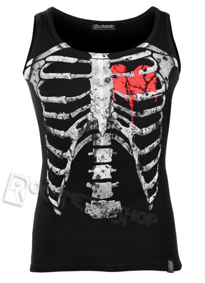 koszulka na ramiączka DARKSIDE - RED RIBS