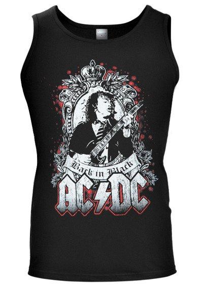 koszulka na ramiączkach AC/DC - BACK IN BLACK