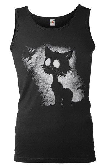 koszulka na ramiączkach CAT & BUTTERFLY