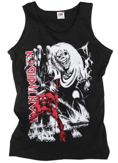 koszulka na ramiączkach IRON MAIDEN - THE NUMBER OF THE BEAST