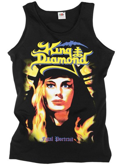 koszulka na ramiączkach KING DIAMOND - FATAL PORTRAIT