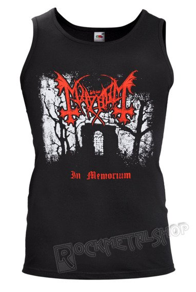 koszulka na ramiączkach MAYHEM - IN MEMORIUM