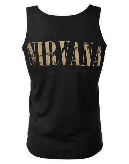 koszulka na ramiączkach NIRVANA - LIVE, THAT NIGHT, SOLD OUT
