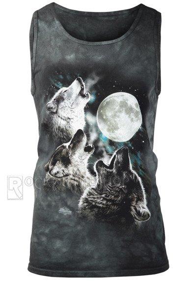 koszulka na ramiączkach THE MOUNTAIN - THREE WOLF MOON