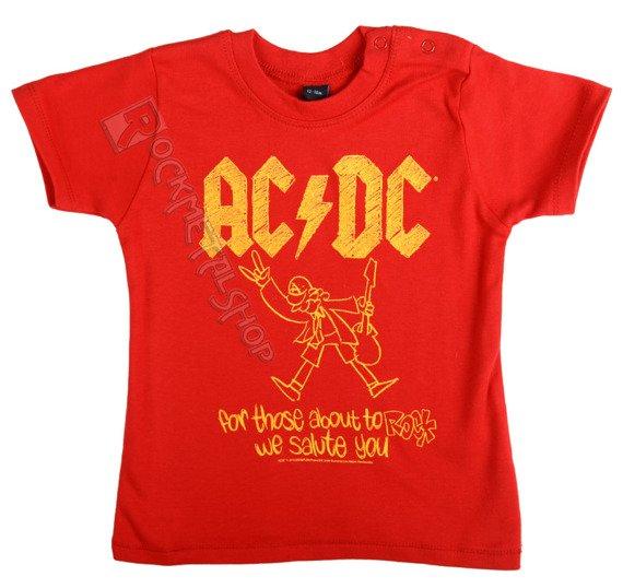 koszulka niemowlęca AC/DC - FOR THOSE ABOUT TO ROCK