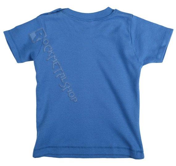 koszulka niemowlęca DEF LEPPARD - BLUE UNION FLAG