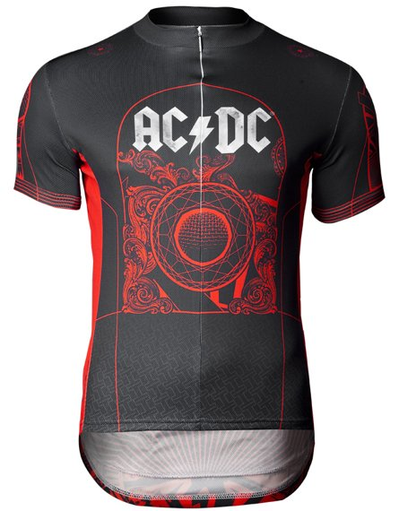 koszulka rowerowa AC/DC - ROCK'N ROLL TRAIN (PRIMAL WEAR )
