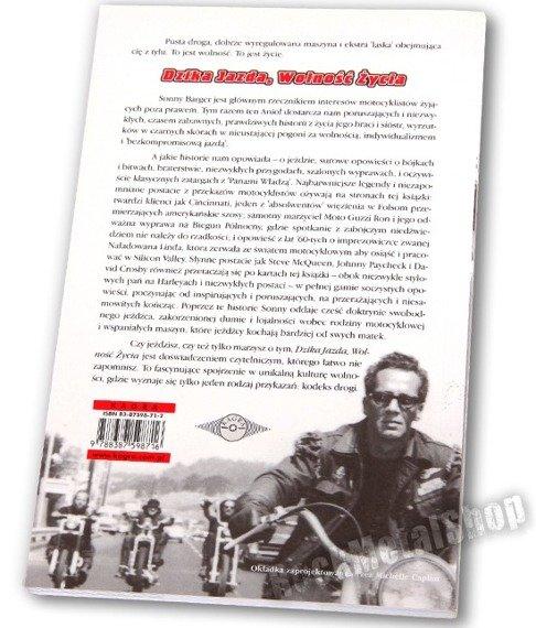 """książka DZIKA JAZDA, WOLNOŚĆ ŻYCIA autor Ralph """"Sonny"""" Barger"""