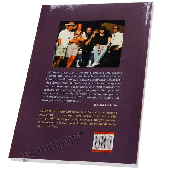 książka JETHRO TULL - MINSTRELE W GALERII autor: Dawid Rees