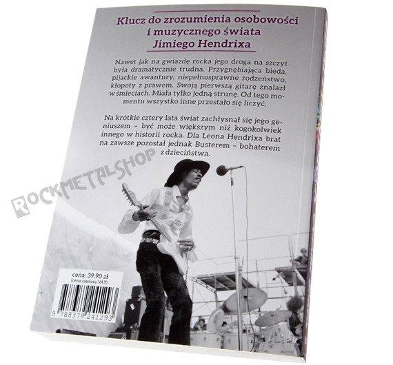 książka JIMI HENDRIX - OCZAMI BRATA Autorzy: L. Hendrix, A. Mitchell