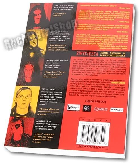 książka WŁADCY CHAOSU - BLACK METAL: Krwawe Powstanie Satanistycznego Metalowego Podziemia