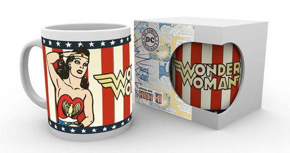 kubek DC COMICS - WONDER WOMAN VINTAGE
