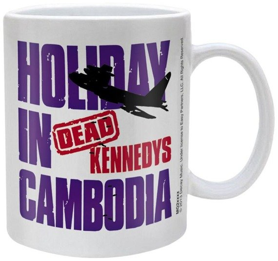 kubek DEAD KENNEDYS - HOLIDAY IN CAMBODIA