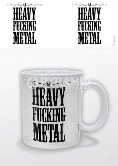 kubek HEAVY FUCKING METAL