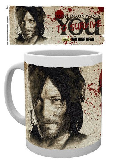 kubek THE WALKING DEAD - DARYL WANTS YOU