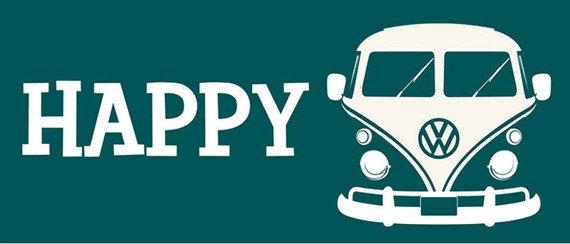 kubek VW CAMPER - HAPPY CAMPER