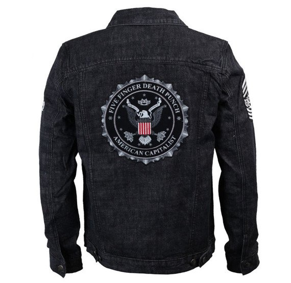 kurtka FIVE FINGER DEATH PUNCH - EAGLE SEAL DENIM JACKET