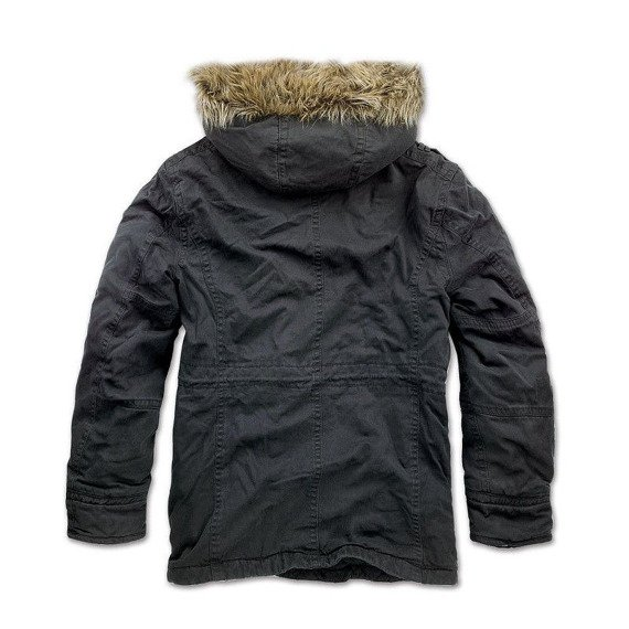 kurtka z kapturem VINTAGE EXPLORER JACKET black