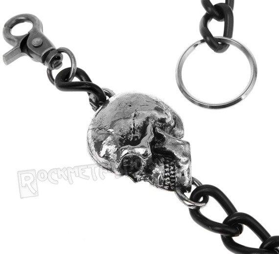 łańcuch do kluczy/portfela CZASZKA