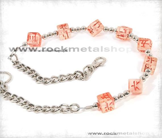 łańcuch do kluczy/portfela KOSTKA