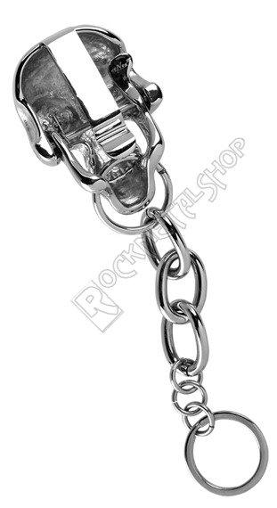łańcuch do kluczy / portfela SKULL