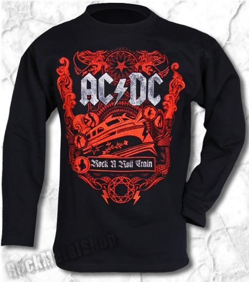 longsleeve AC/DC - ROCK N ROLL TRAIN