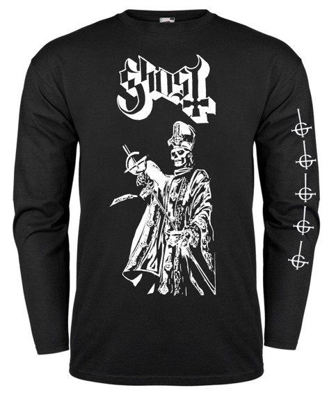 longsleeve GHOST - POPE