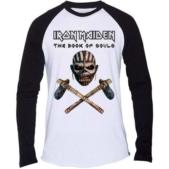 longsleeve IRON MAIDEN - BOOK OF SOULS