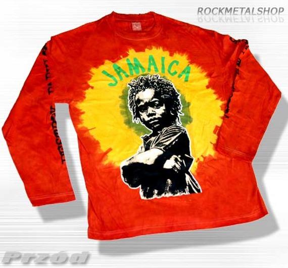 longsleeve barwiony RASTA JAMAICA CHILD
