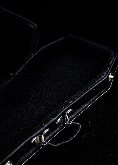 miniatura futerału gitarowego TRUMNA MAŁA (CZARNY)