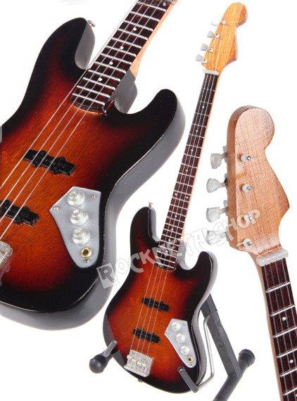 miniaturka gitary JACO PASTORIUS JAZZ BASS