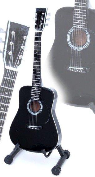 miniaturka gitary JOHNNY CASH - THE MAN IN BLACK (MPA527)
