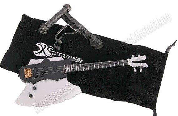miniaturka gitary KISS - GENE SIMMONS: AXE-BASS (MP112)