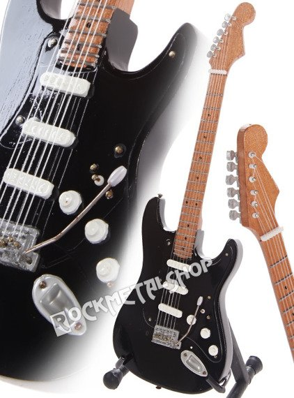 "miniaturka gitary PINK FLOYD - DAVID GILMOUR ""THE BLACK STRAT"""