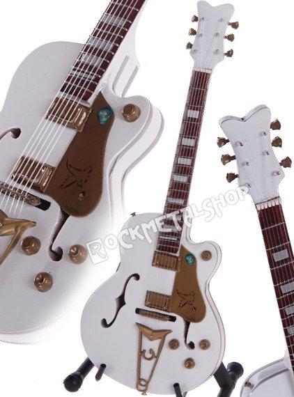 miniaturka gitary RED HOT CHILI PEPPERS - JOHN FRUSCIANTE: WHITE FALCON