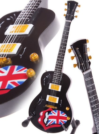 miniaturka gitary ROLLING STONES - GIBSON CLASSIC TRIBUTE