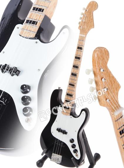 miniaturka gitary RUSH - GEDDY LEE BASS