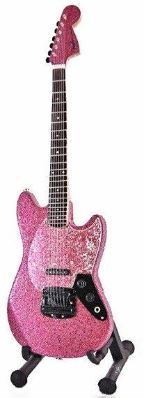 miniaturka gitary SHAKIRA - MUSTANG PINK